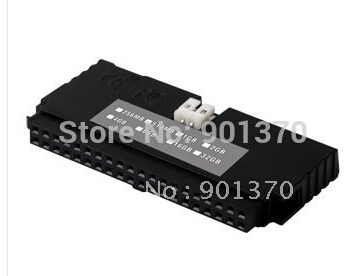 L 40PIN PATA IDE DOM Disk Female Vertical Disk On Module 1-Channels 2GB SLC For CNC Industrial Equipment