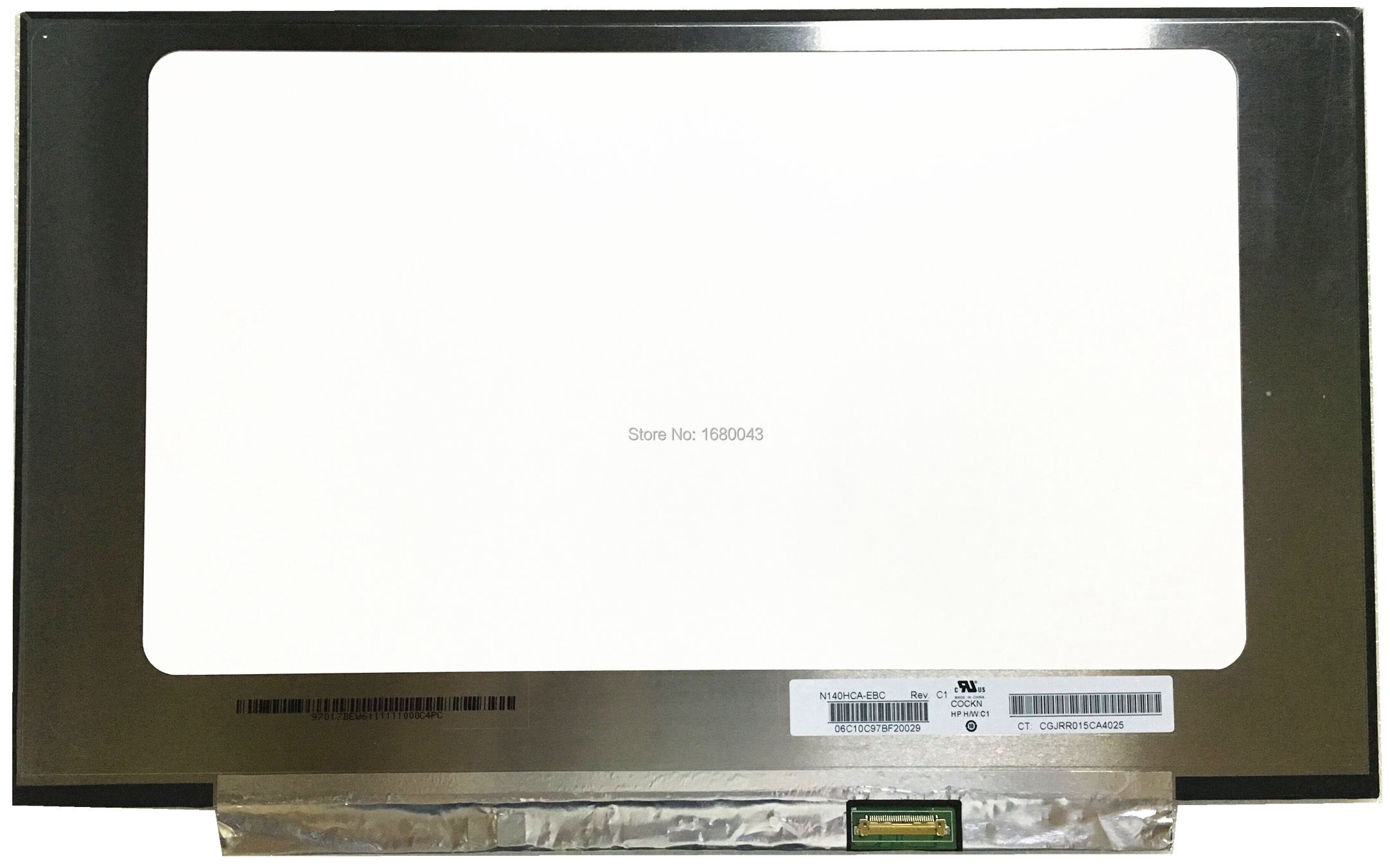 N140HCA-EBC N140HCA EBC 30 pin EDP IPS LCD Laptop LED Display Screen 1920X1080 free shipping original new n140hca eba n140hca eba 14 inch laptop lcd screen