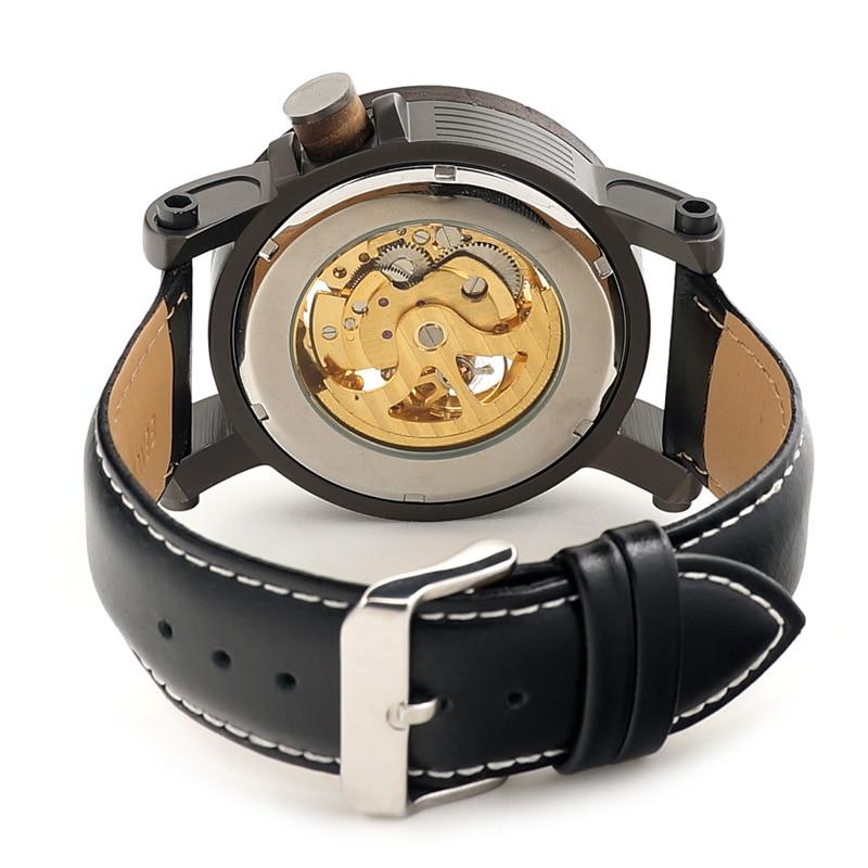BOBO BIRD Πολυτελή μάρκα ανδρών μηχανική - Ανδρικά ρολόγια - Φωτογραφία 4