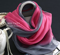 Red and Grey Wholesale 100% Silk Scarf In Summer Sunscreen Turban Hijab Style 2016 Muslim Women Shawls spring shawls and scarves