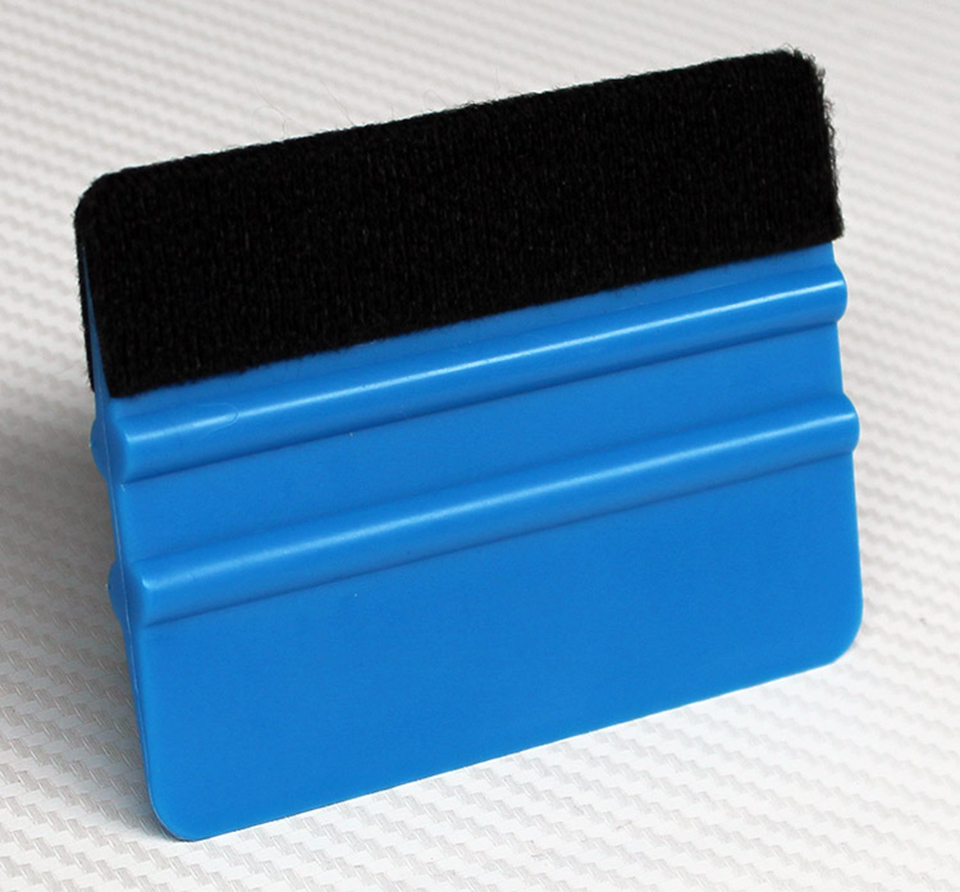 Image 2 - 10*7.5cm 3 M Hand Applicator Squeegee Felt Edge Bump Cards Bondo Squeegee With Felt For Car Wrapping PA 1F Whole Sale-in Car Stickers from Automobiles & Motorcycles