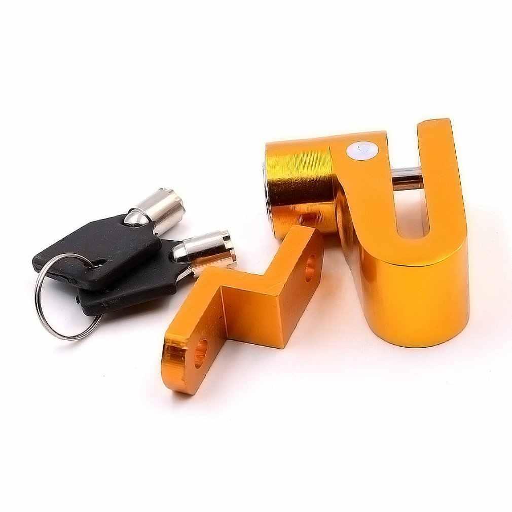 Sepeda Motor Kunci Keamanan Anti Pencurian Sepeda Motor Sepeda Motor Rem Cakram Perlindungan Pencurian untuk Skuter