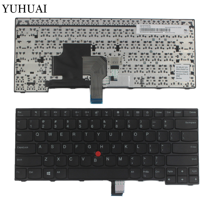 New English Laptop Keyboard 2009-2012 For Thinkpad E470 E470C E475 US Keyboard Replacement FRU 01AX040 new original us english keyboard thinkpad edge e420 e420s e425 e320 e325 for lenovo laptop fru 63y0213 04w0800