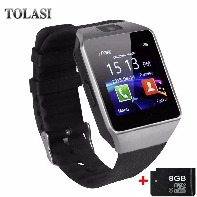 2018 Bluetooth Smart Watch DZ09 Relojes Smartwatch Relogios TF SIM - Vīriešu pulksteņi