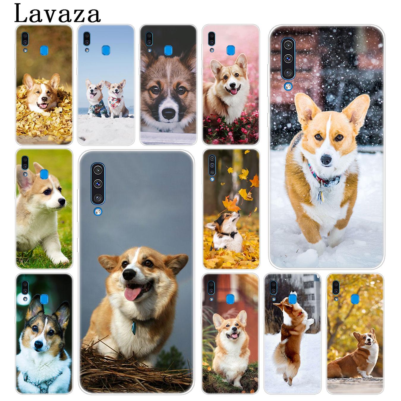 Brave Lavaza Corgi Hard Transparent Phone Case For Samsung Galaxy A70 A50 A40 A30 A10 M10 M20 M30 Cove Easy To Lubricate
