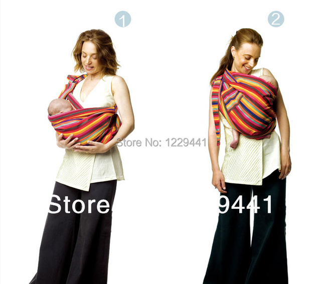 9612ba37c68 High Quality Snugly sling pure cotton fabric baby carrier great gift for  new or seasoned parents