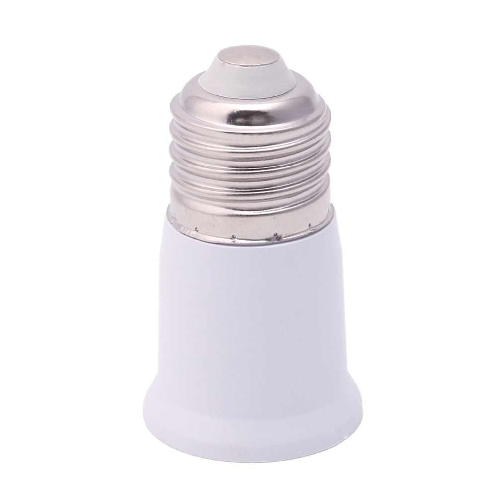 1Pc 65mm E27 To E27 Socket Extension Base Bulb Adapter Converter Holder Lamp Bases