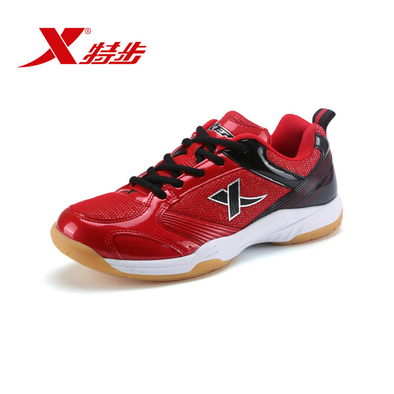 XTEP Brand Men's badminton Athletic Outdoor Sports Trainers Running Shoes for men free shipping Sneakers ultra boost huarache