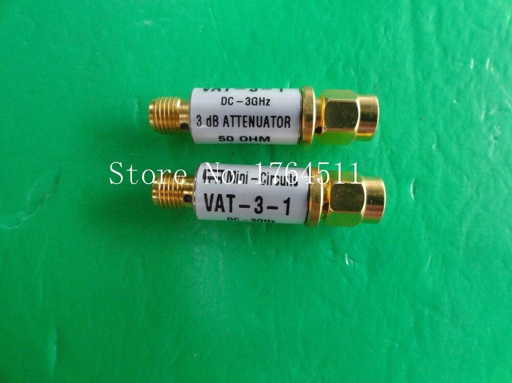 [BELLA] MINI VAT-3-1 DC-3GHz 3dB 1W SMA Coaxial Fixed Attenuator  --5PCS/LOT