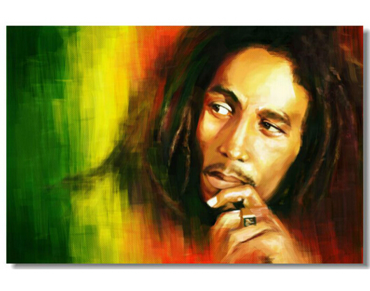 Removable Mural Home Decor Wall Sticker Make Your Horse Warm Custom Bob Marley Stop That Train Big 20x30 inch Print Poster