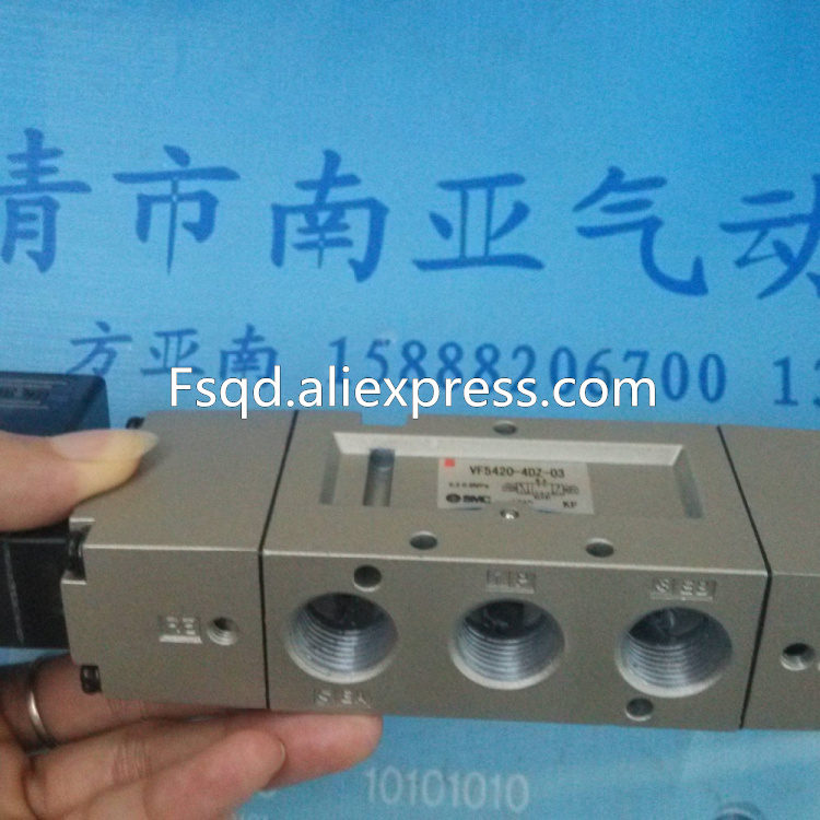 VF5420-4DZ-03 SMC solenoid valve electromagnetic valve pneumatic component sy5120 5g 01 sy5220 5g 01 sy5120 5ge 01 smc solenoid valve electromagnetic valve pneumatic component