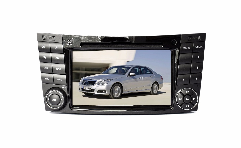 S190 touch screen android 7 1 car dvd player for Benz W211 2002 2008 wifi 3G