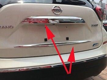 Garniture de couvercle de coffre arrière pour Nissan Murano ensemble de garniture de moulage inférieur 2015-2017