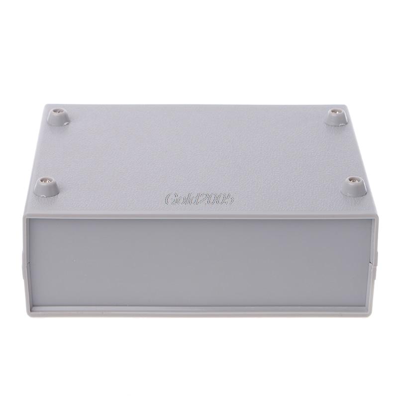Plastic Electronic Project Box Enclosure Instrument Shell Case DIY 130x170x55MM Drop ship