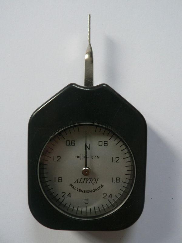 Dial Tension Gauge Force Meter Single Pointer 3 N