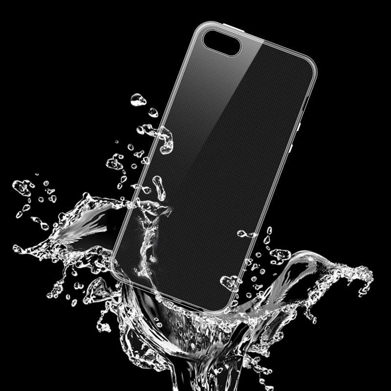 Telefonskydd för iphone 6S genomskinlig mjuk silikon Coque Crystal - Reservdelar och tillbehör för mobiltelefoner - Foto 4