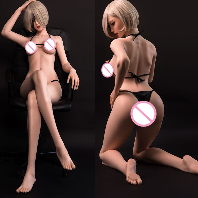 167cm EVO Real Silicone Sex Doll Real Vagina Breast Pussy Oral Sex Anal Metal Skeleton Life Size Rubber Doll For Men Uk170