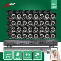 ANRAN 32CH 1080N AHD DVR 1800TVL 720P HD Waterptoof Home Security Camera Surveillance Security Systems