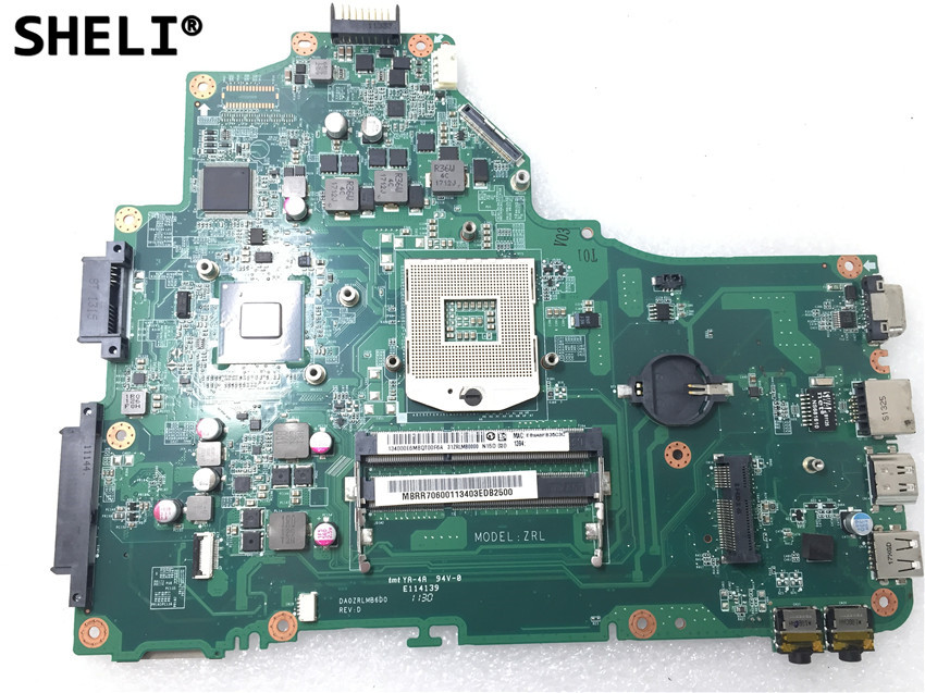 SHELI For Acer Aspire 5749 5349 Motherboard DA0ZRLMB6D0SHELI For Acer Aspire 5749 5349 Motherboard DA0ZRLMB6D0