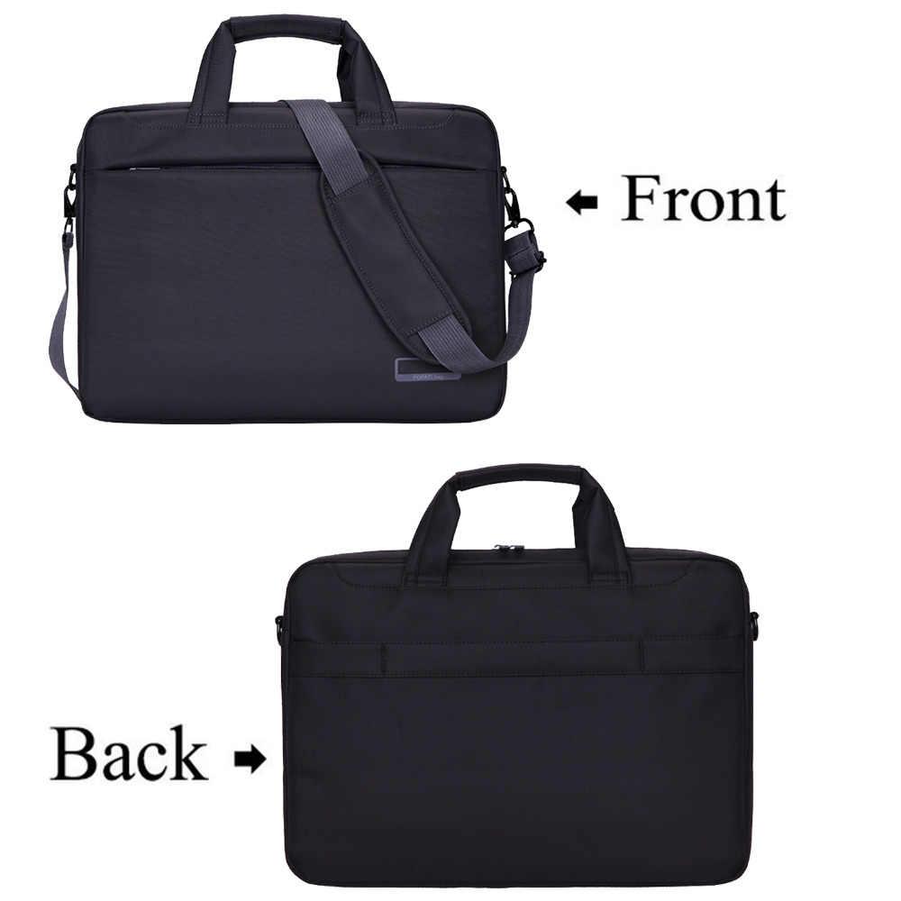 3ba18dc8dccc Nlylon Waterproof Laptop Shoulder Bag 14 15.6 17.3 inch Notebook Air BAG  Messenger Case HandBag Briefcase Women Men carrying bag