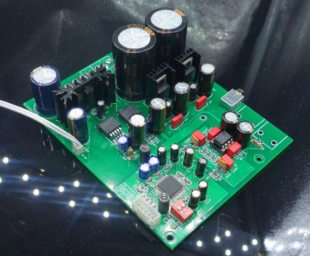 AC14V * 2 à AC20V * 2 AK4495 top I2S carte de décodage de carte de mise à niveau prend en charge la mise à niveau DAC des joueurs