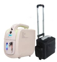 XGREEO Mini Portable Oxygen Concentrator W/ Battery & Car Adapter 110V 240V DC12V Medical Home Travel Use FDA CE Approved