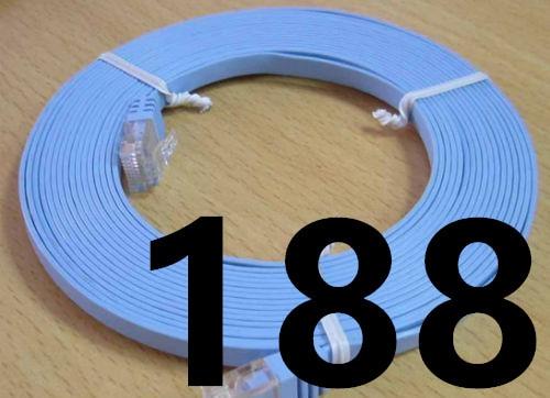 Imagen de 2019 Ethernet Cable High Speed RJ45 Network LAN Cable Router Computer Cable for Computer Router 188