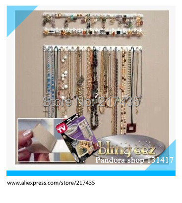 As seen on tv Bling eez Jewelry Organizer Hanger wall jewelry