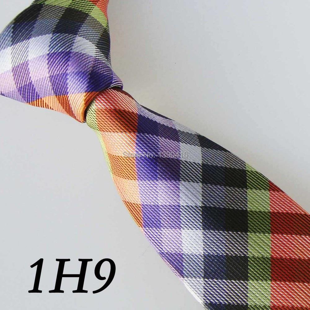 ddf66bb0d7b8 2018 Latest Version Men' Tie Light Green Orange Purple