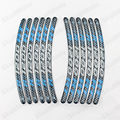 3D carbono motocicleta RIM Stripe roda Decal Tape etiqueta serve para BMW R1200RT