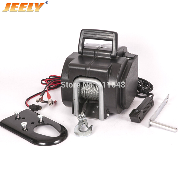 Yacht Winch,Boat winch,Barge winch 12V 3500lb ELECTRIC WINCH JEELY 3500lb winch electric winch 12v 4x4 utv atv winch free shipping