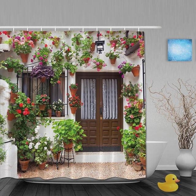 Aliexpress.com : Buy Luxury House Decor Bathroom Shower Curtains ...