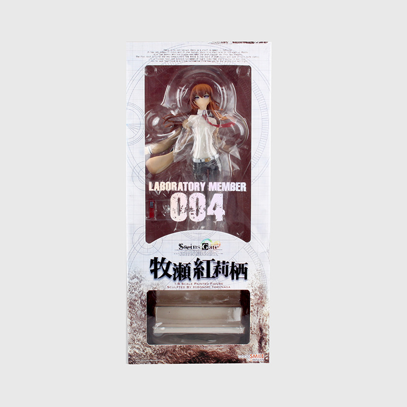 Anime Steins Gate Makise Kurisu Girl 1/8 PVC Action Figure Resin Collection Model Toy Doll Gifts Cosplay biyang baby boom fz 10 electric guitar effect pedal three models fuzz star distortion true bypass musical instruments