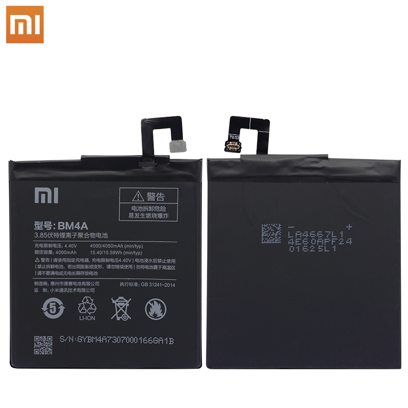 Image 2 - Xiao Mi Phone original Battery 4000mAh BM4A Phone Batteries for Xiaomi Hongmi Redmi Pro Battery+ToolS-in Mobile Phone Batteries from Cellphones & Telecommunications on