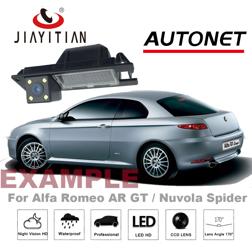 Car camera For Alfa Romeo AR GT / Nuvola Spider Rear View Camera Reversing Camera LED HD CCD Night Vision Parking Assistance стоимость