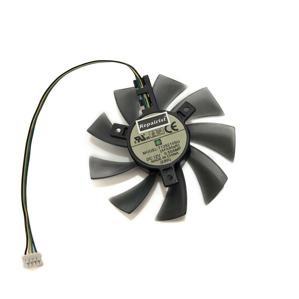 R9nano GPU Cooling Fan VGA Card Cooler For sappire zotac his Radeon R9 Nano  Graphics Card Cooling System As Replacement
