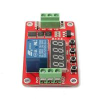 High Quality Newest 5V DC Multifunction Self Lock Relay PLC Cycle Timer Module Delay Time Switch