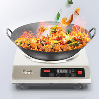 3500W Induction Cooker High Power Commercial Household Induction Cooker ConcaveCookware FGH3.5KW Induction Cookers    -