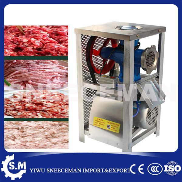 200kg/h commercial electric meat grinder machine beef mutton meat minced machine chicken duck bone grinding machine garcinia as preservative of chicken meat