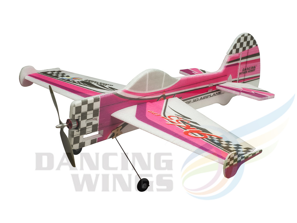 Dancing Wings Hobby Foam EPP YAK55 Foam Plane 3D Flying Aerobatic Model Aircraft Wingspan 800mm RC