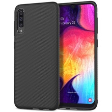 For Samsung Galaxy A50 A30 A10 M20 M10 Case Silicone Texture Carbon Fiber Anti-slip Soft TPU Cover For Samsung A50 Case Slim for samsung galaxy a70 case silicone anti slip carbon fiber soft tpu back cover for samsung a70 2019 case funda slim texture
