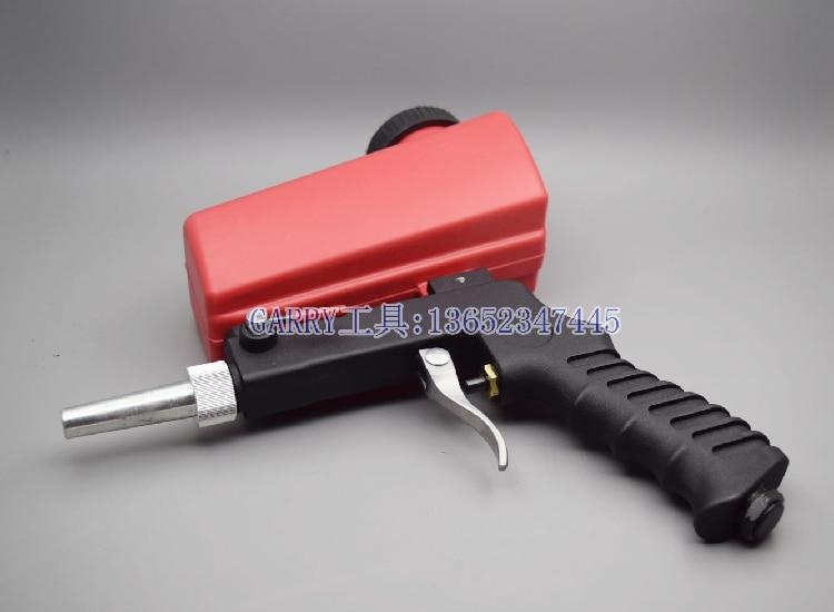 Outils pneumatiques Air sable Blaster Air sablage pistolet gravité alimentation trémie Spot Blaster pistolet rouille nettoyage enlever pistolet Derusting