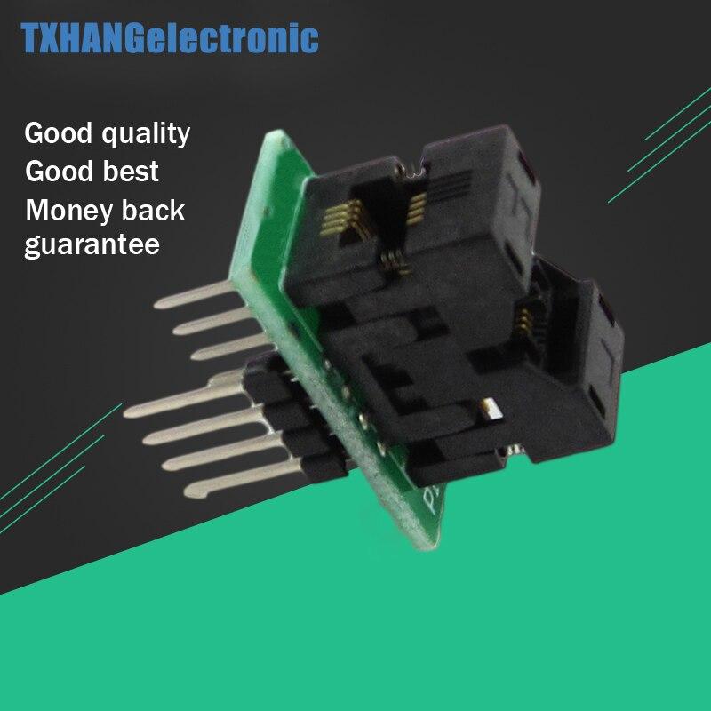 MSOP8 to DIP8 MCU Test IC socket Programmer adapter Socket