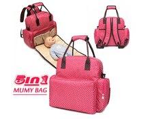Soins de bébé à langer bébé multifonctionnel sacs pour maman de maternité maman sac à couches sac à dos pour poussette bébé sac à main voyage