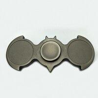 New Fidget Spinner Batman EDC Finger Alloy Bat Hand Spinner Metal Tri Spinner Fidget Toys Stress