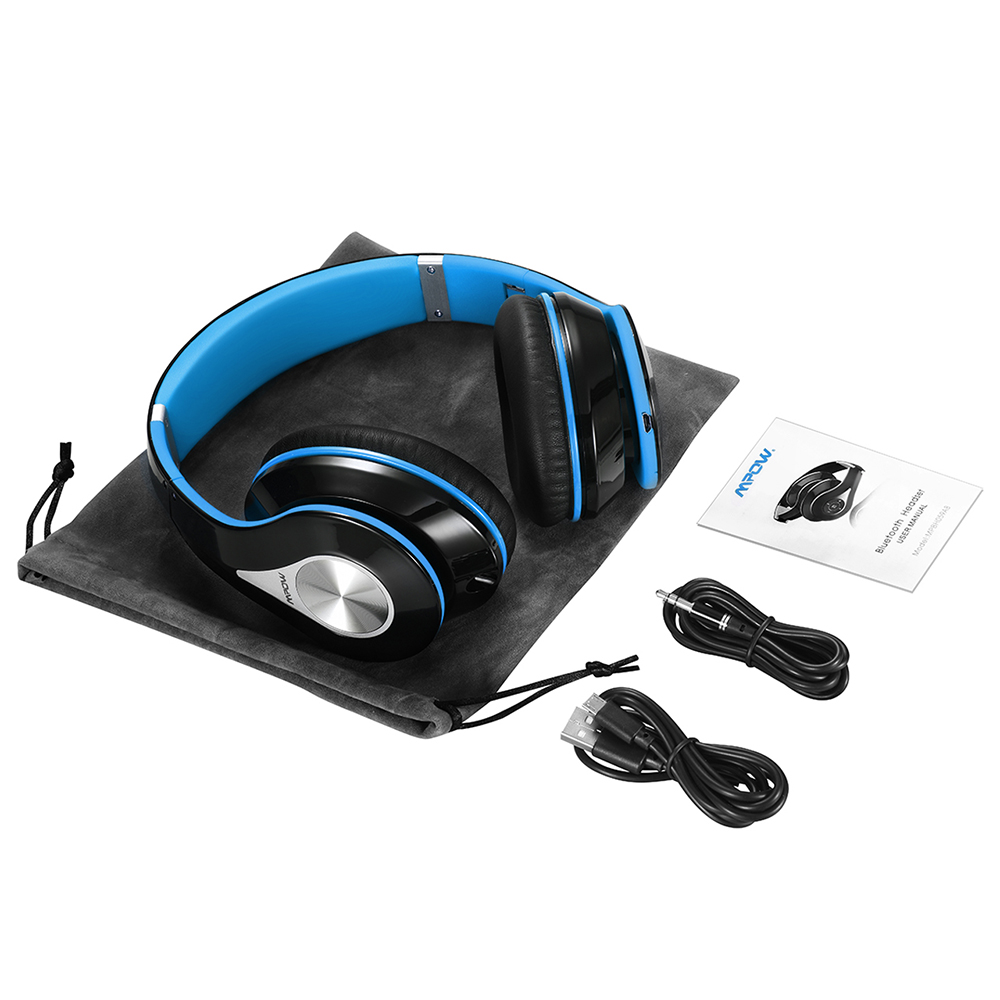 d2abf1551c08d6 Mpow 059 Bluetooth Wireless Headset Overear Stereo Foldable Headphone  Ergonomic Design Earmuffs with Built in Mic and Wired Mode-in Bluetooth  Earphones ...