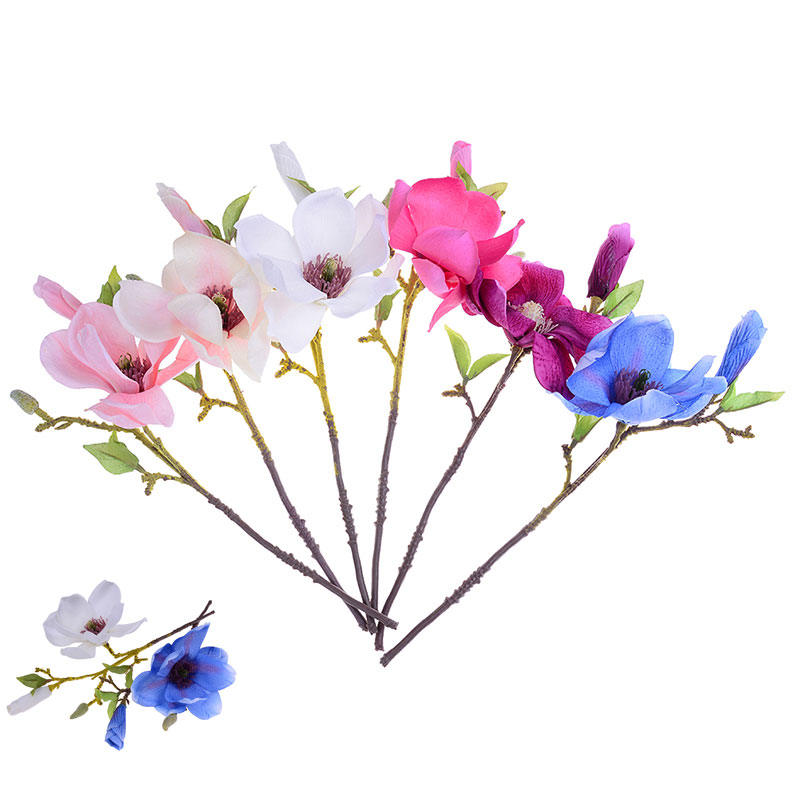 New wedding Party decoration silk flowers orchid wedding artificial flowers for home decoration