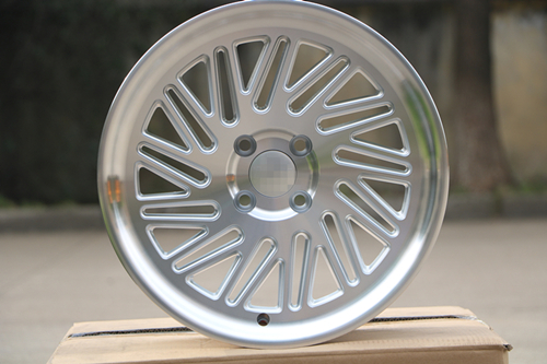 Staggered style 16x 7 0 8 0 ET30 25 4x100 Silver Machined Face alloy wheel rims