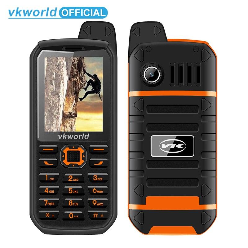 Vkworld V3 Plus 3000mAh Long Standby Mobile Phone 2 4inch IP54 Waterproof Dustproof Cellphone Dual Sim