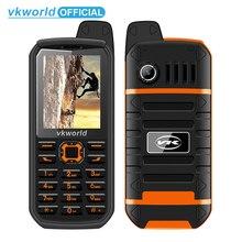 Vkworld V3 плюс 3000 мАч долгого ожидания мобильного телефона 2.4 дюйма ip54 Водонепроницаемый пыле телефон dual sim gsm fm Радио мобильный телефон